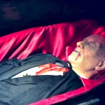 The Master is Sleeping in Dracula's Lair upstairs in Castle Dracula Dublin!