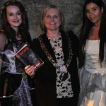 "Lord Mayor Críona Ní Dhálaigh Official Visit!  Embracing her Dark Side...  with some Vampires, She said ""Castle Dracula is definitely Dublin's most Exciting and Thrilling Attraction.  I loved my visit to Castle Dracula and would recommend visiting Castle Dracula to everyone looking for an extremely Fun and Unique Irish Experience!!"""