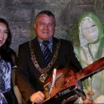 Lord Mayor Official Visit!  Embracing his Dark Side...