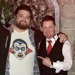 Hollywood Actor Jorge Garcia from Lost & Hawaii Five O travelled all the way from California to visit Castle Dracula in Dublin. As you can see from his Tshirt, Jorge is a huge Dracula fan and had to Visit the Birthplace of Bram Stoker and soak up the History of Dracula and Bram at the Bram Stoker CASTLE DRACULA Experience in Dublin. He posed for pictures with the cast of Vampires after the Castle Dracula Tour and Graveyard Vampire Show, showing off his Dracula Tshirt and saying what a Fun Night Out Castle Dracula in Dublin is for Everyone!